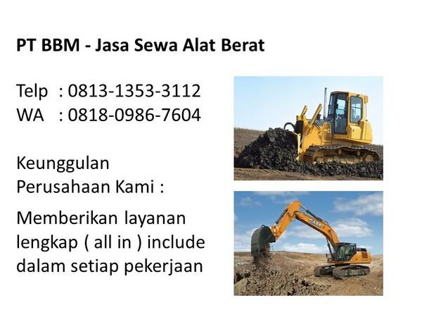 Sewa Alat Berat Kota Di Bandung Dan Jakarta Selatan Wa 0818 0986 7604 Alamat Rental Alat Berat Telp 0813 1353 3112