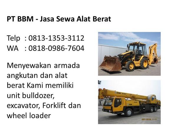 Sewa Alat Berat Wheel Loader Di Bandung Dan Jakarta